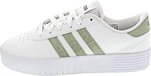 adidas Court Bold, Zapatillas de Deporte Mujer, FTWBLA/VERHAL/Gridos, 42 2/3 EU