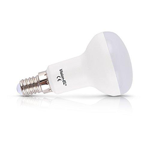 Vision-EL 776621 Ampoule LED R50 Spot 4000°K, Aluminium/PC, E14, 5 W, Dépoli