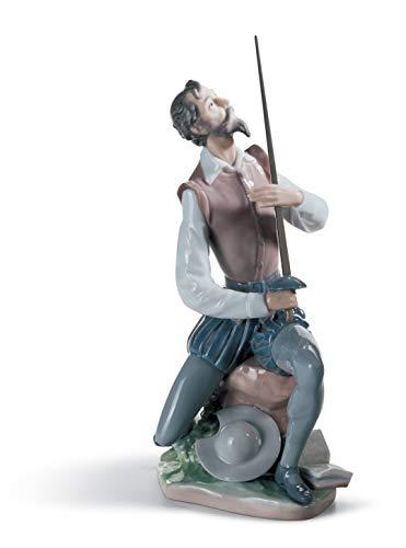 LLADRÓ Figura Don Quijote Declamando