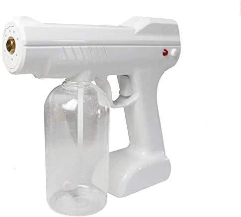 YZPFSD 800ML Cordless Rechargeable Electric ULV Sprayer, Portable Fog Machine Disinfection Machine, Nano Sterilization Atomizer, Disinfection Blue steam Spray