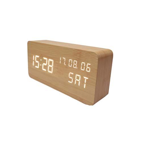TXXM Creative Electronic Alarm Clock Luminous Mute Bedroom Alarm Inteligente Estudiante de Moda Simple Alarm Clock (Style : B)