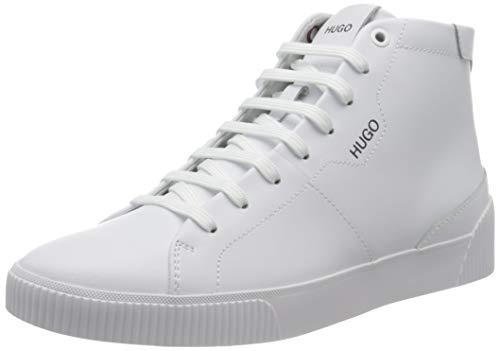 HUGO Herren Zero_Hito_lta Sneaker, White100, 44 EU