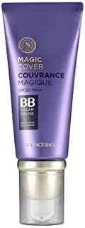 The Face Shop - Face it Magic Cover BB Cream SPF 20 (V201 Apricot Beige) 45mililiter