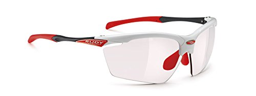 RUDY PROJECT Agon Occhiali, White G. Imp.X 2 Red