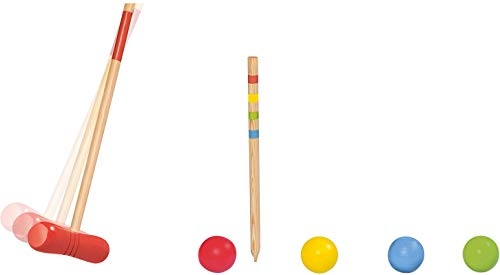 PLAYTIVE® Krocket, ab 6 Jahren, aus Echtholz