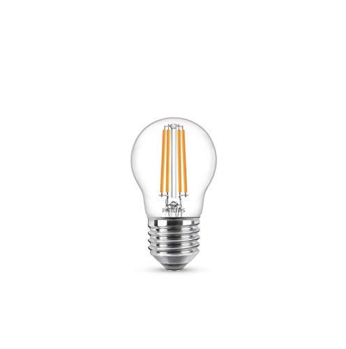 Philips LEDclassic 60W, E27, warmweiß (2700 Kelvin), 806 Lumen LED Lampe, Glas, 6.5 W, klar