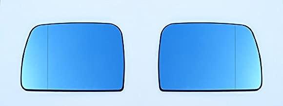 OriginalEuro Euro Wing Tinted Blue Heated Anti Blind Spot Mirror Glass for BMW X5 E53 M 99-06