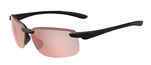bollé Erwachsene Flyair Sonnenbrille, Matte Black, Large