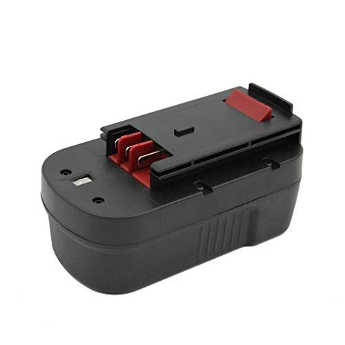 Kinon Reemplazo Herramienta Eléctrica Batería 18V 2.0Ah Para Black & Decker Taladro Inalambrico Destornillador A18 A1718 BD18PSK HPB18 HPB18-OPE Firestorm A18 FS180BX FS18BX FS18FL FSB18 FS1800CS