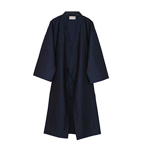 Fancy Pumpkin Kimono Giapponese Robe Long Yukata Pigiama Dressing Gown Camicia da Notte-Taglia L-01