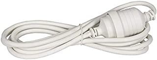 Jackson 4 Metre Power Extenstion Lead - White