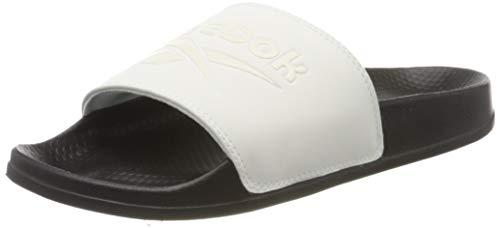 Reebok Slide, Gymnastics Shoe Unisex Adulto, Chalk/Black/Classic White, 34.5 EU