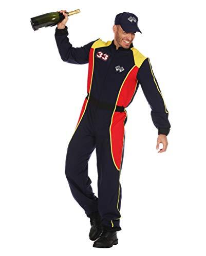 Horror-Shop Rennfahrer Kostüm Anzug für Herren an Karneval 56