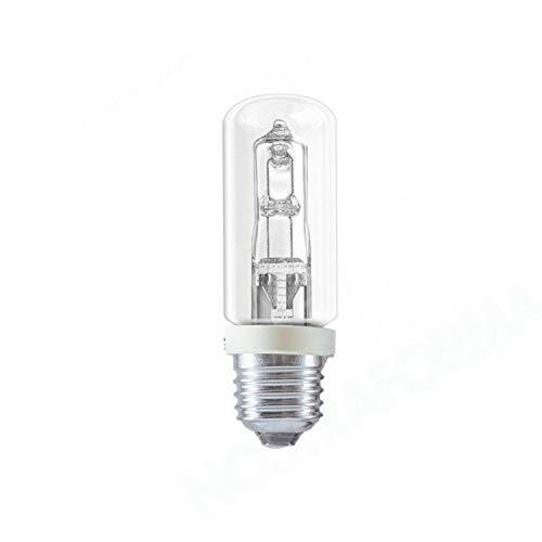 Thorgeon Lampadina lampada alogena Tubolare E27 150W 240V Luce calda a risparmio energetico in ceramica 2870 Lumen Dimmerabile 2800 Kelvin 1500 Ore