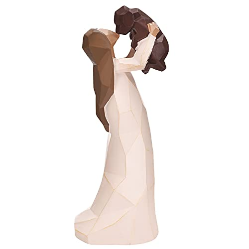 Hund Engel Figuren, Engel der Freundschaft Hund Denkmäler, 8 Zoll Skulptur handgemalte Figuren