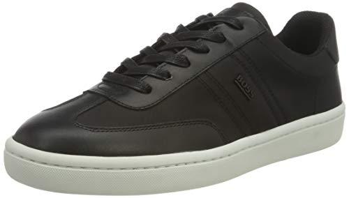 BOSS Business Herren Ribeira_Tenn_nylt Sneaker, Black1