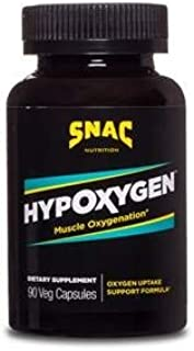 SNAC HypOxygen Muscle Oxygenation Performance Endurance Support Formula, 90 Capsules (45 Servings)