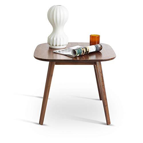 JIA Xing Mesa de café, Creativo sólido Simple de Madera pequeña Mesa de Centro y Mesa Lateral Durable fácil de Limpiar pequeña Mesa de Centro Mesa de Centro