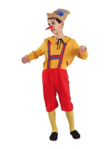 DISBACANAL Disfraz de pinocho Infantil - 8 año