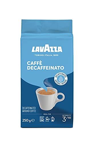 Lavazza Gemahlener Kaffee - Caffè Crema Decaffeinato, 1er Pack (1 x 250g)