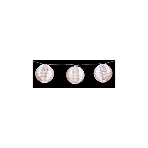 AC-Déco Guirlande d'intérieur - 10 lampions - Décoration Lumineuse - 1m35 de lumière