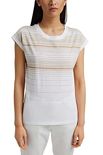 ESPRIT Gestreiftes T-Shirt aus 100% Bio-Baumwolle