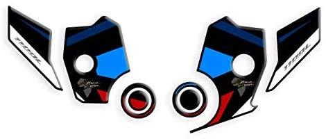 Resin Resistant Sticker, Schutz des MOTORRADBILDSCHIRMS FÜR Honda Africa Twin CRF 1100 L Adventure Sport ADB-002 (Tricolor)