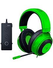 Razer Kraken Tournament Edition Esports Gaming Koptelefoon, Bekabelde Koptelefoon met USB-Audiocontroller, Groen