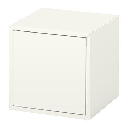 Ikea - Armario con puerta (tamaño 13, 3/4 x 13, 3/4 x 13 3/4 pulgadas), color blanco