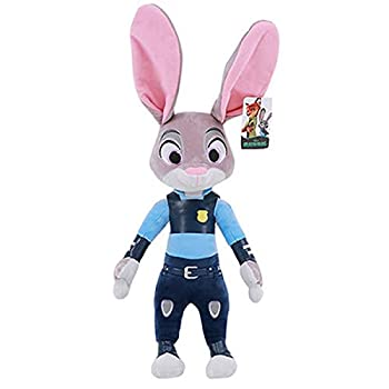 Zootopia Movies Kawaii Nick Wilde Judy Hopps Stuff Plush Stuffed Animals Cute Toy Doll Model Children s Birthday Gift 40 cm