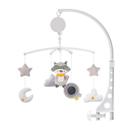 Mikiya Berceau Musical Lit Mobile Bell Animal Hochet B/éb/é Lit Musical Bell Cadeau De Bo/îte /à Musique