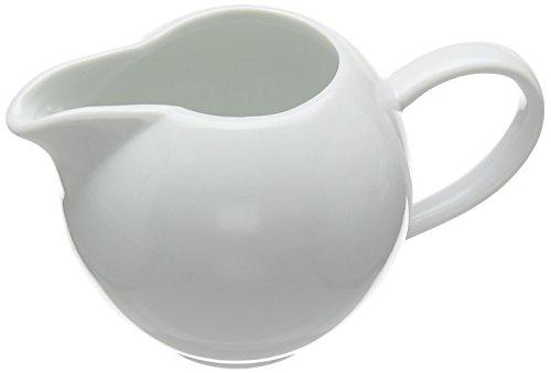 Price and Kensington Simplicity Cream Jug, Porcelain, White, 13.5 x 9.1 x 8.2 cm