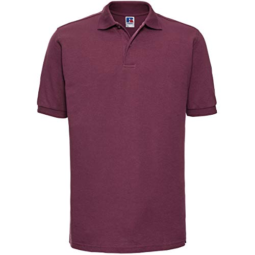 Russell - robustes Pique-Poloshirt - bis Gr. 6XL / Burgundy, XL XL,Burgundy