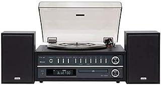 Teac MC-D800 - Sistema estéreo tocadiscos, color Negro
