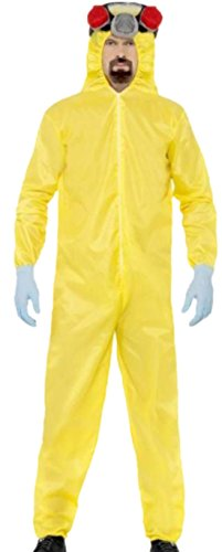 Halloweenia - Erwachsene Breaking Bad Anzug, L, Gelb