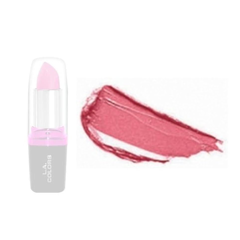 コンベンションスキルアクセント(3 Pack) LA Colors Hydrating Lipstick - Pouty (並行輸入品)