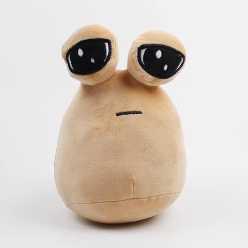 My Pet Alien Pou Peluche Toys Soft Stuffed Pou Muñeca Almohada Lindo juego Juguetes para niños Fans de los niños Regalo de cumpleaños 22 cm
