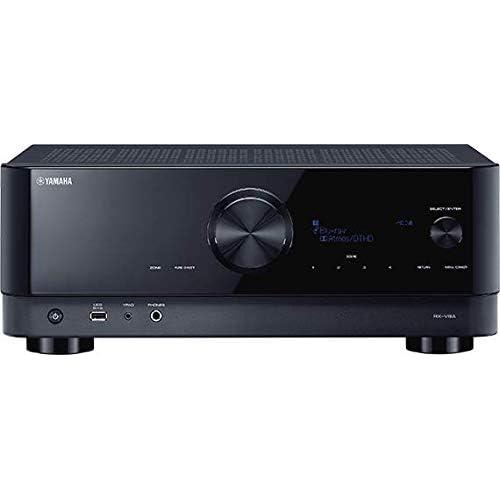 Yamaha RX-V4A Sintoamplificatore AV - Con 5.2 Canali, Surround, Funzioni Specifiche per il Gaming e Sistemi di Controllo Vocale, Versatile, Nero
