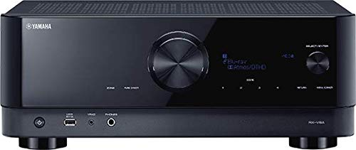 Yamaha AV Receiver RX-V4A - Network receiver with MusicCast surround sound, gaming functions and...