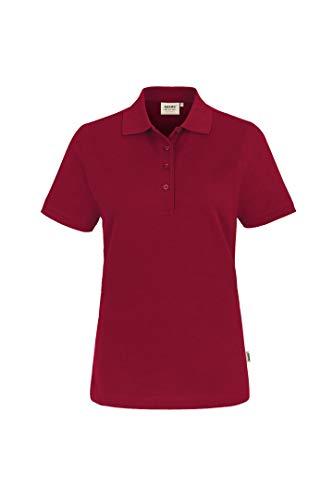 HAKRO Damen Polo-Shirt Performance - 216 - weinrot - Größe: 4XL