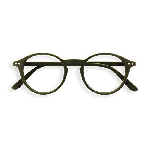 IZIPIZI LetmeSee #D Khaki Gafas de Lectura Unisex Adulto +2 Khaki