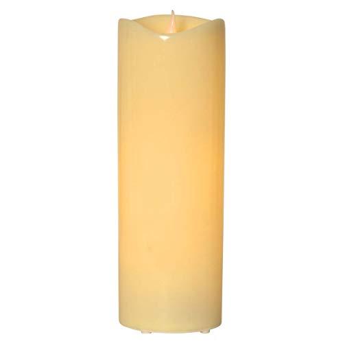 große LED Außen-Kerze, GRANDE 38cm, mit Timer