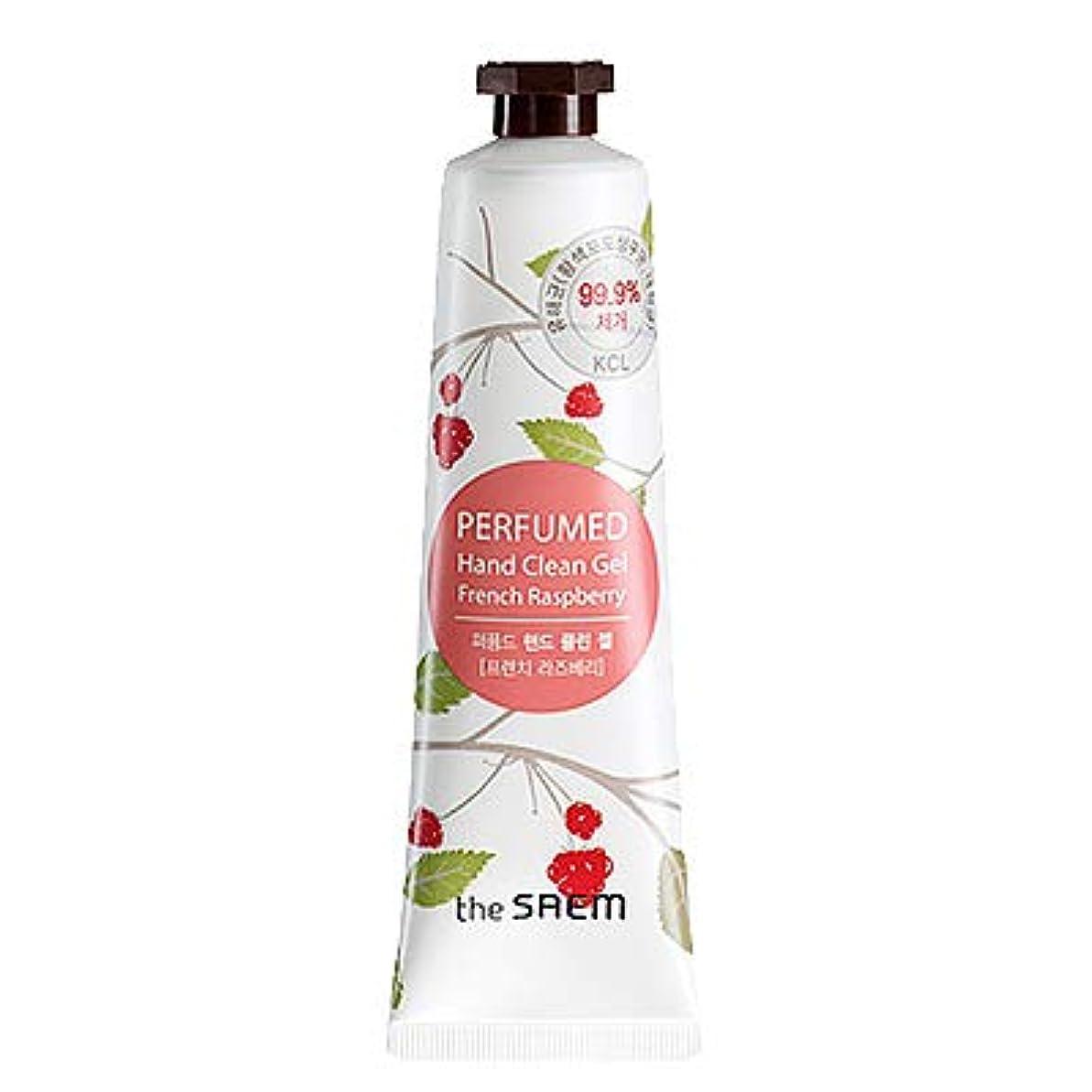 石炭モネ弾丸theSAEM ザセム パヒューム ハンド クリーン ジェル PERFUMED HAND CLEAN GEL CREAM 韓国コスメ (F-French Raspberry(フレンチラズベリー))