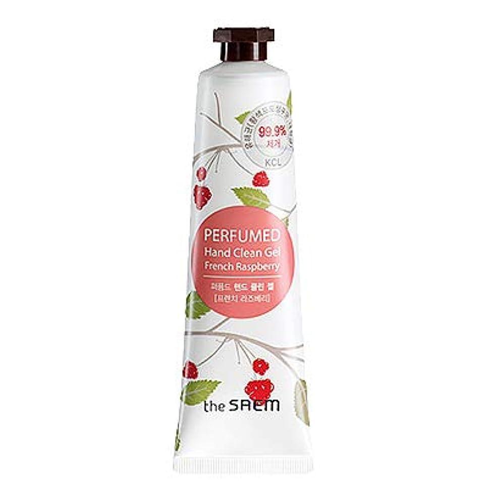 損失大洪水媒染剤theSAEM ザセム パヒューム ハンド クリーン ジェル PERFUMED HAND CLEAN GEL CREAM 韓国コスメ (F-French Raspberry(フレンチラズベリー))
