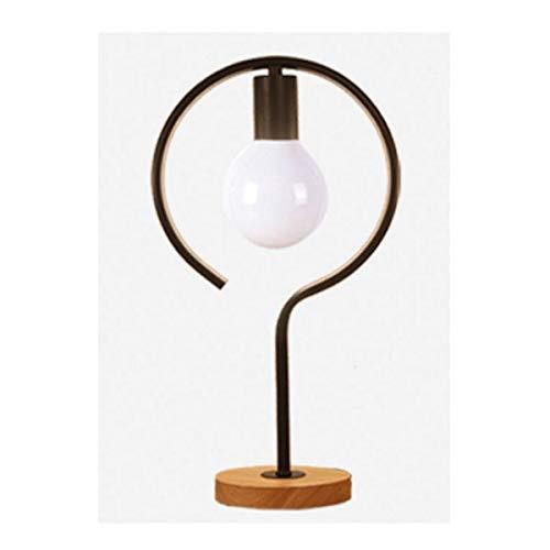 JJZXD Sencilla lámpara de Escritorio Creativa del Sitio de Estar, Dormitorio, decoración Estudio, Escritorio Escritorio con lámpara Individual iluminación de la lámpara de Escritorio geométrica