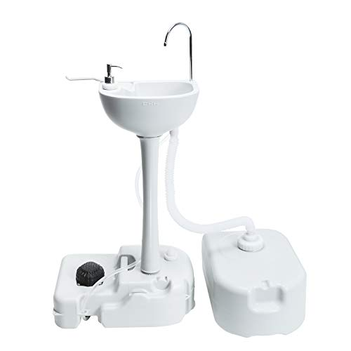 AOSGYA Camping Sink with RV Portable Waste Tank Great for Traveling, Camping, Outdoor Events