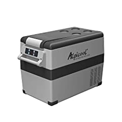 """❄ STORAGE SPACE:Exterior Size 27.2""""x13.6""""x18.2"""", 48Quart(45 Liter) capacity ,fits 48 x 12ozs cans of Cola.【Buyer Notice: This product is not for sale in California!】 ❄ FREEZES WITHOUT ICE: -4°F(-20°C) powerful chilling down performance ,can adjust th..."""