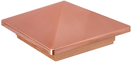 UNIVERSAL CONSUMER PRODUCTS 72219 6x6 Copper Victoria Cedar Cap, 6 x 6