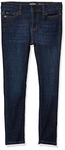 Amazon Essentials Girl's Skinny Stretch Jeans, Houston/Medium, 8R