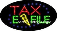 税金e-file点滅LEDサイン( High Impact、エネルギー効率的な)